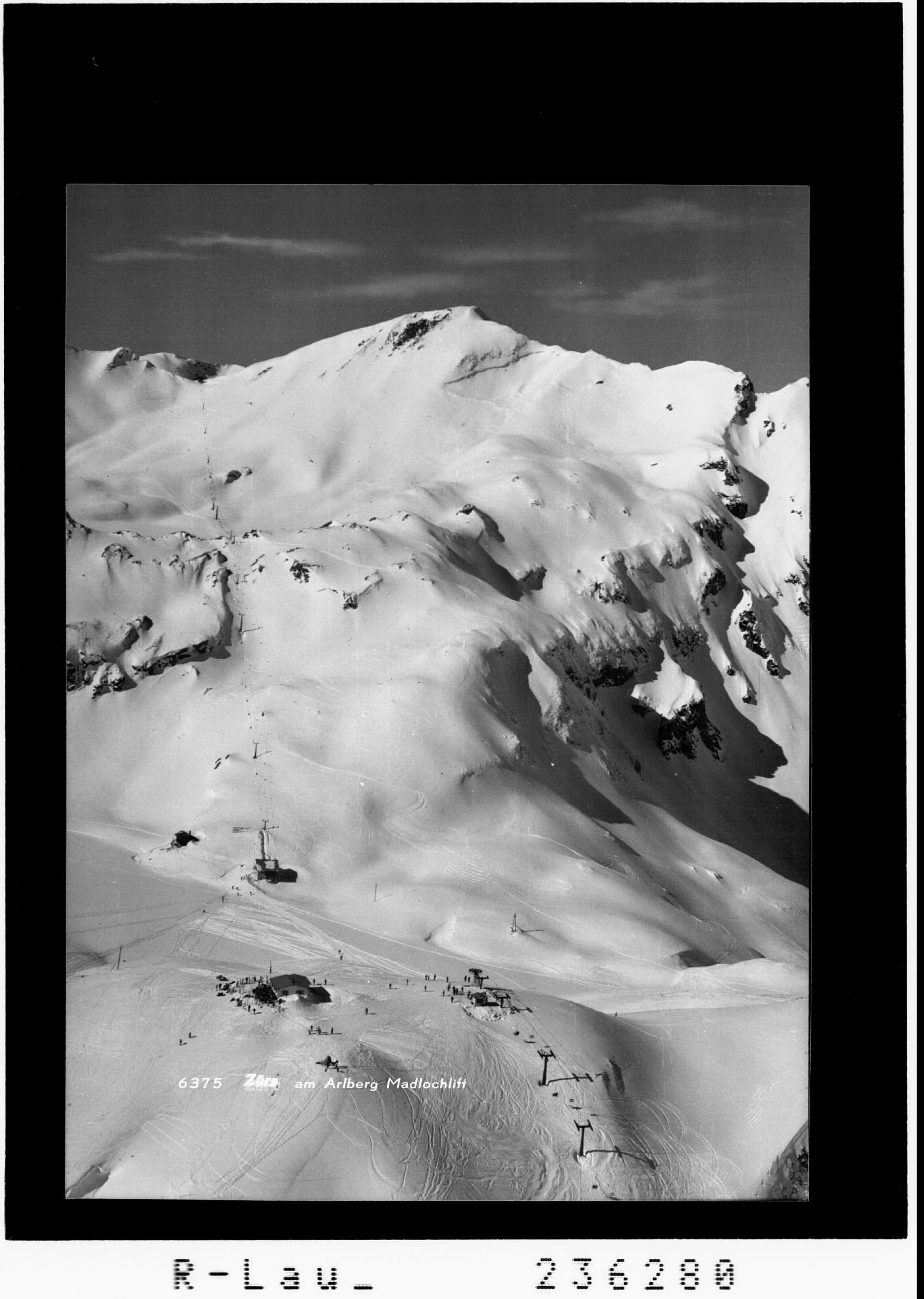 Zürs am Arlberg Madlochlift von Rhomberg
