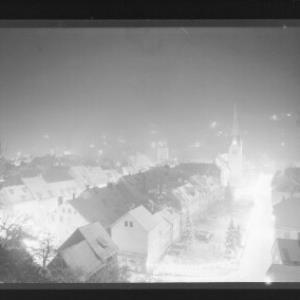 Feldkirch / Weihnachtsbeleuchtung Blick auf die Stadt von Risch-Lau