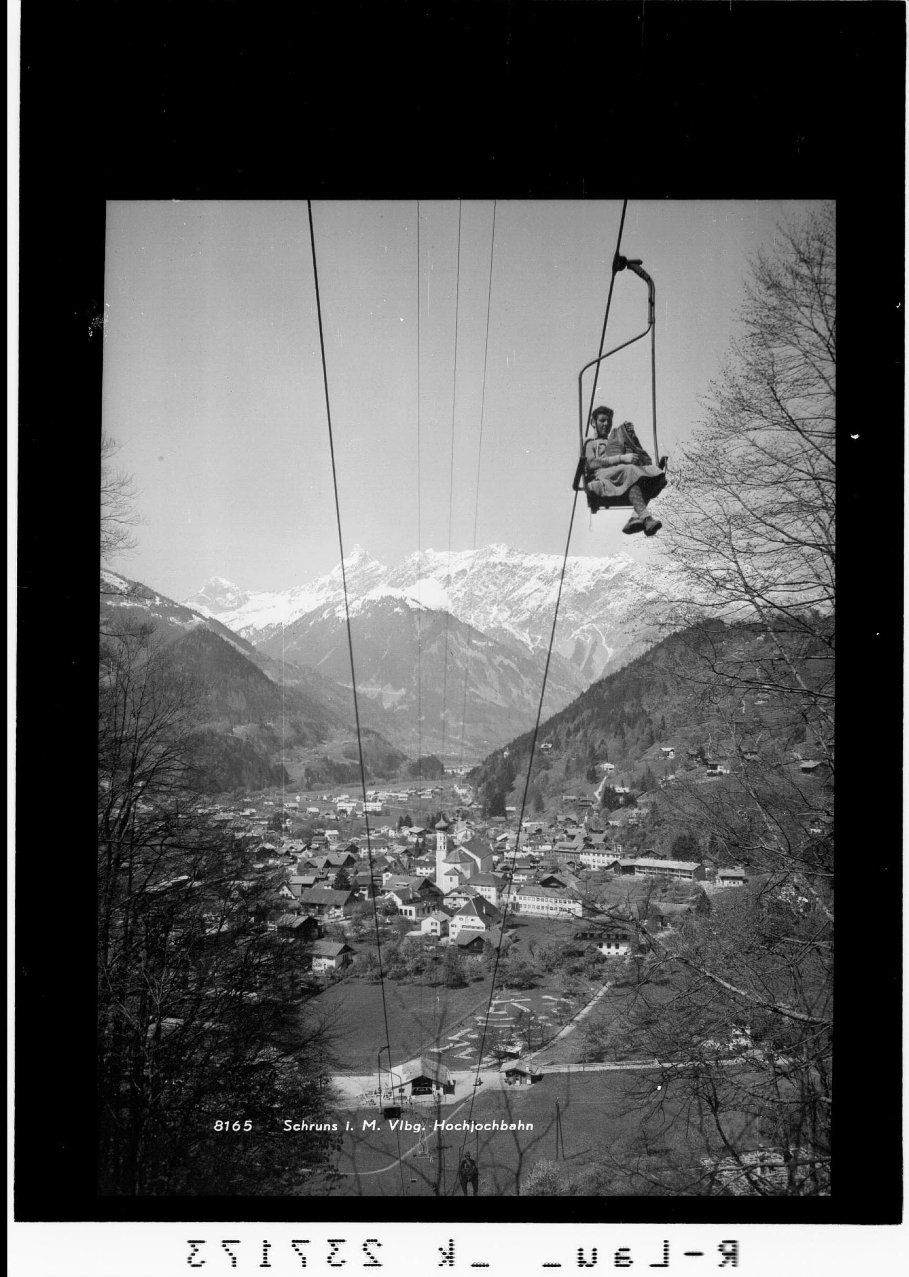 Schruns im Montafon / Hochjochbahn von Rhomberg
