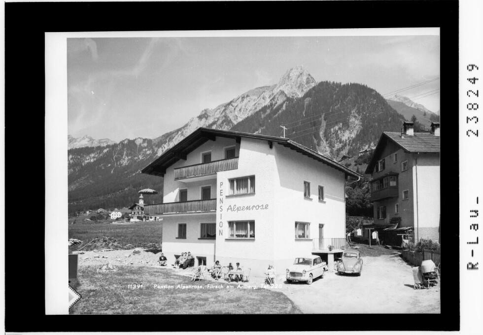 Pension Alpenrose / Flirsch am Arlberg, Tel. 228
