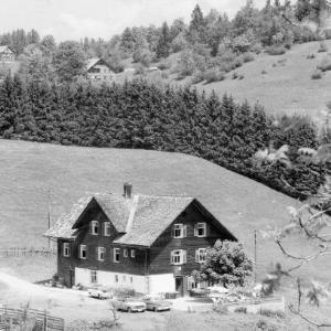 Alpengasthaus Schillerkopf auf der Tschengla bei Bludenz von Rhomberg