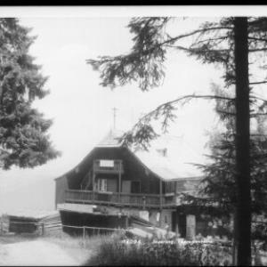 Jauerling / Theresienhütte von Rhomberg