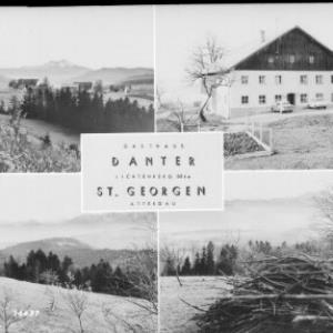 Gasthaus Danter - Lichtenberg 884 m / St. Georgen / Attergau von Rhomberg