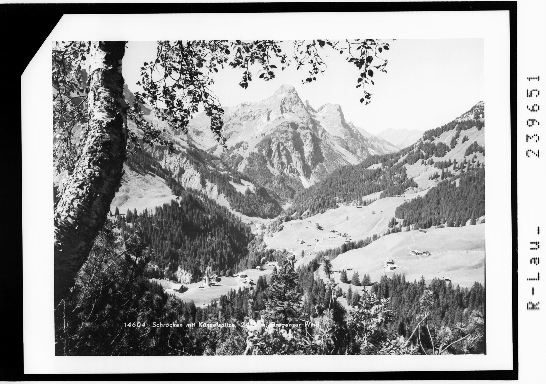 Schröcken mit Künzelspitze 2415 m / Bregenzer Wald von Rhomberg