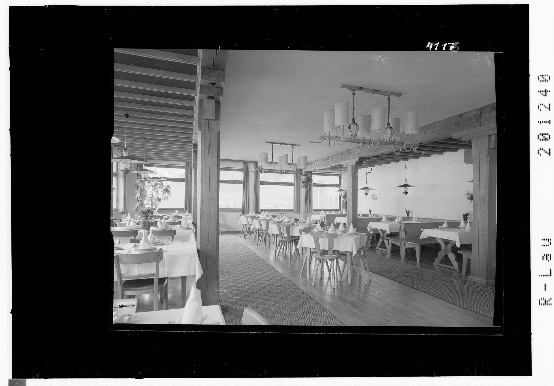 Speisesaal im Gasthof Tannberg in Schröcken von Risch-Lau