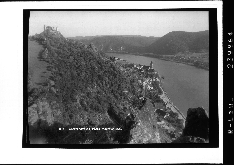 Dürnstein an der Donau / Wachau / Niederösterreich von Rhomberg