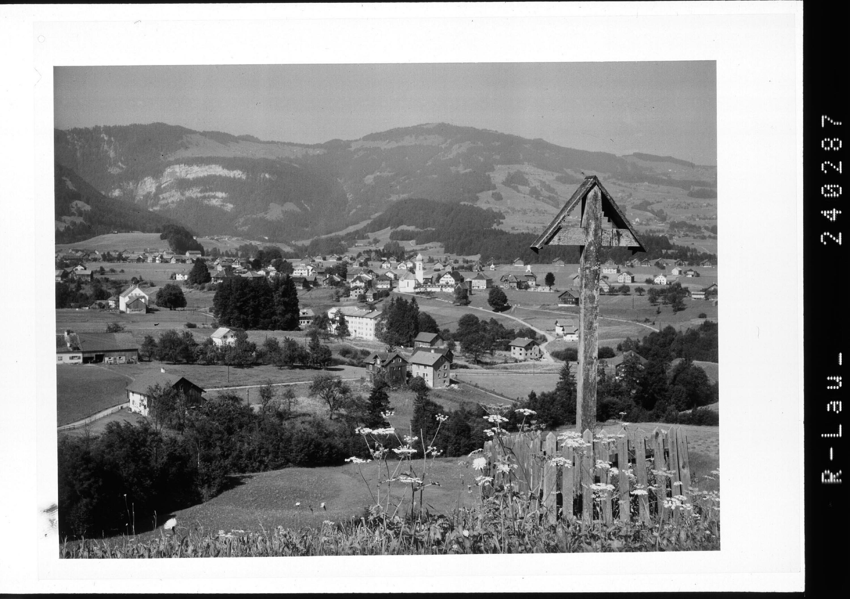 Andelsbuch im Bregenzerwald gegen Hochälpelekopf / Vorarlberg