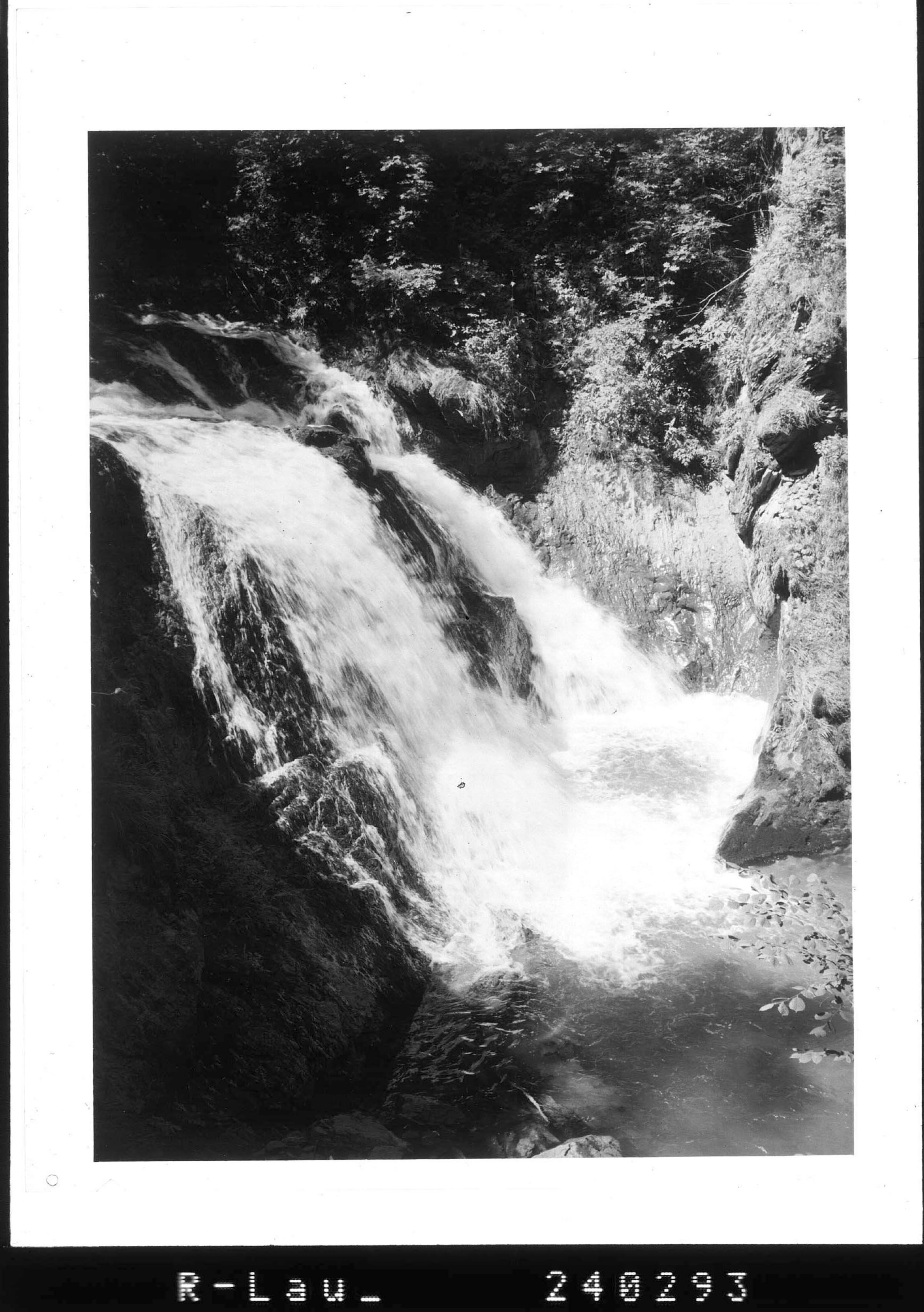 Wasserfall bei Andelsbuch im Bregenzerwald / Vorarlberg von Rhomberg