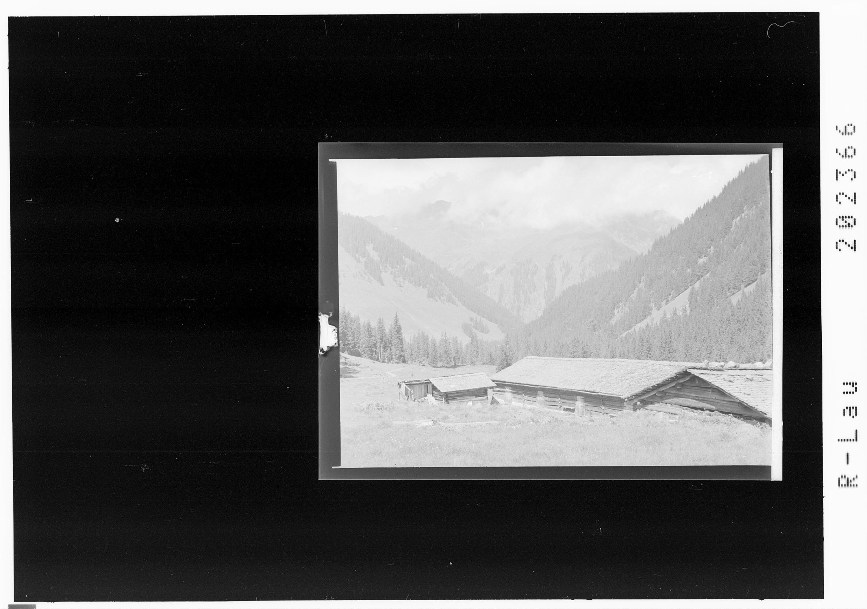 Untere Gaflunaalpe / Silbertal von Risch-Lau
