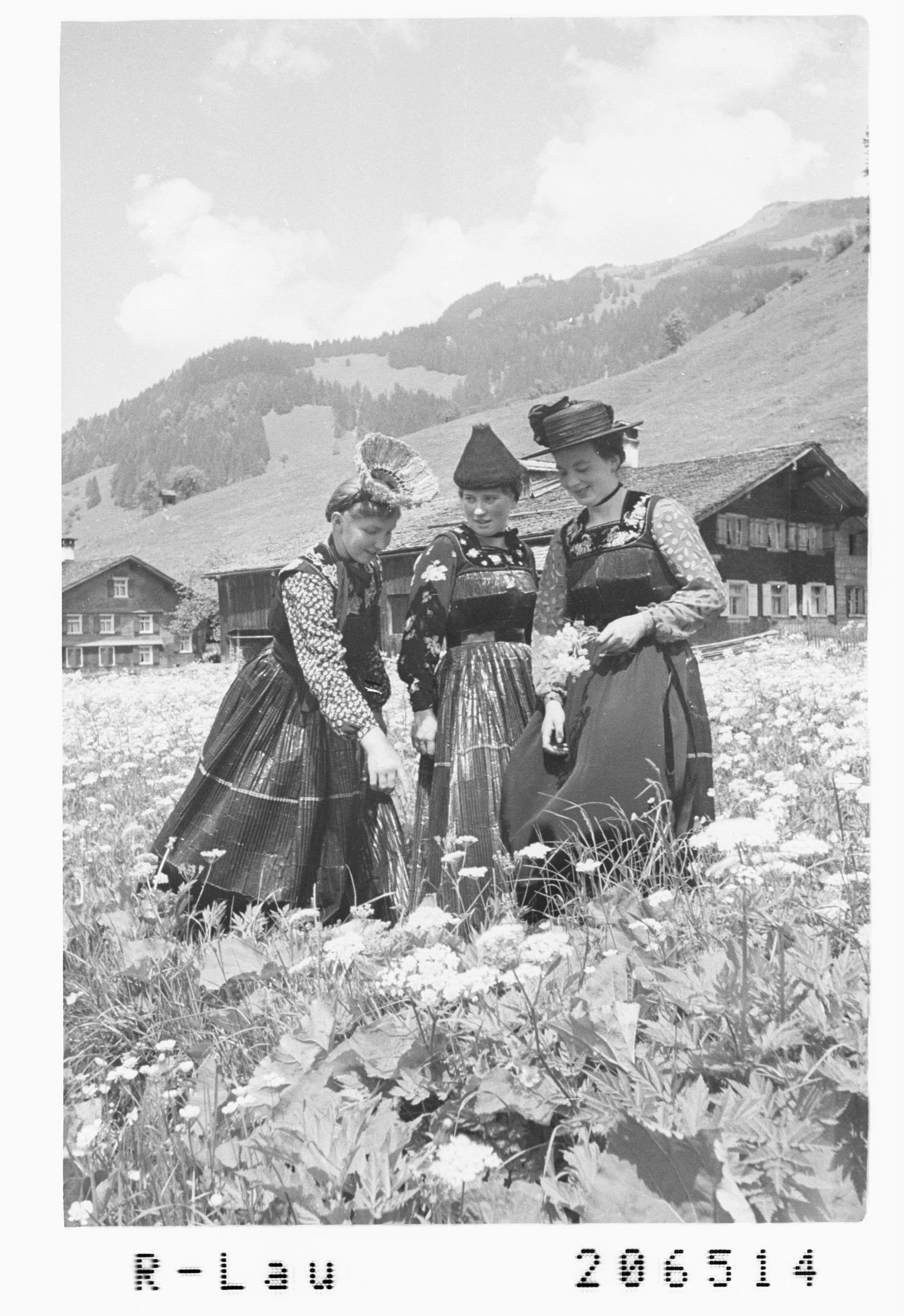 Bregenzerwälder Tracht von Risch-Lau