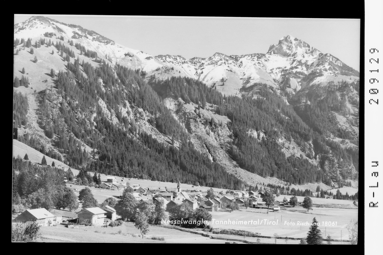 Nesselwängle, Tannheimertal / Tirol von Risch-Lau