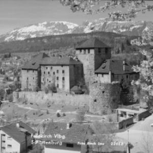 Feldkirch Vorarlberg Schattenburg von Risch-Lau