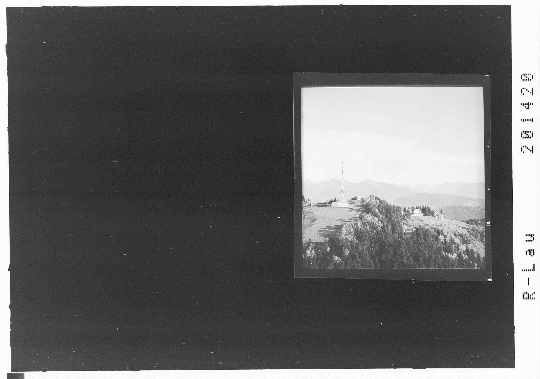 Pfänder bei Bregenz mit Blick in den Bregenzerwald von Risch-Lau