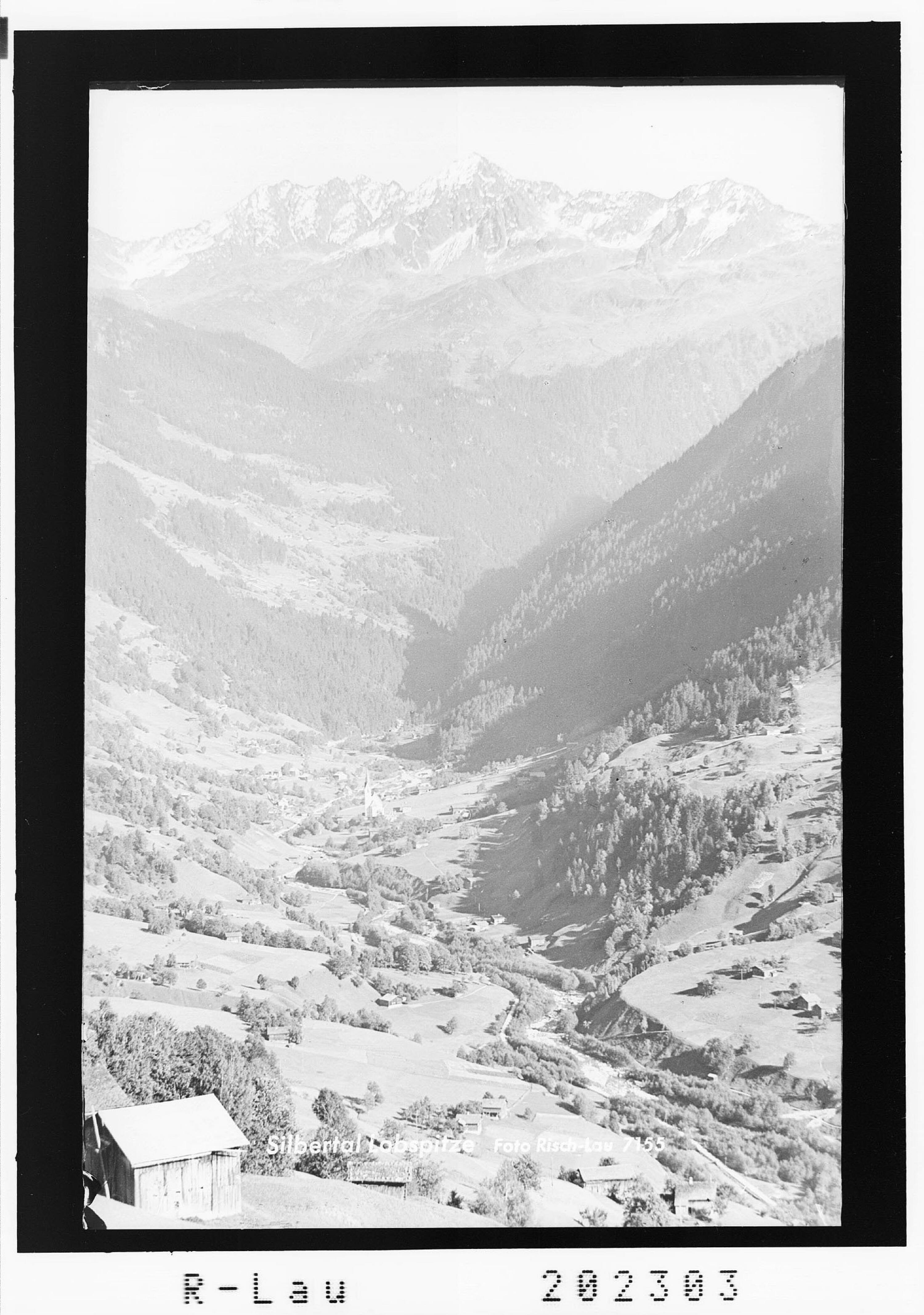 Silbertal - Lobspitze von Risch-Lau
