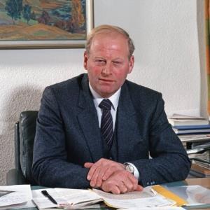 LR Blank, Porträt / Helmut Klapper von Klapper, Helmut