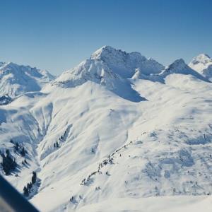 Warth am Arlberg (Flug) / Helmut Klapper von Klapper, Helmut