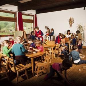 Kindergarten in Brand (innen) / Helmut Klapper von Klapper, Helmut