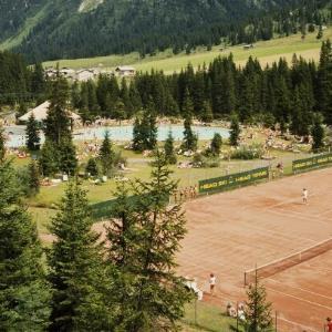 Lech am Arlberg - Tennisplatz / Helmut Klapper von Klapper, Helmut
