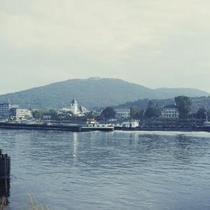 Rhein bei Godesberg / Helmut Klapper von Klapper, Helmut