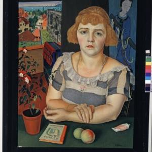 Rudolf Wacker - Ilse Gemälde - Museum / Helmut Klapper von Klapper, Helmut