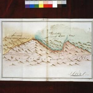 Vorarlbergkarte von 1771 - Repro / Helmut Klapper von Klapper, Helmut