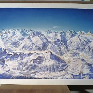 Winter - Panorama Montafon / Helmut Klapper von Klapper, Helmut