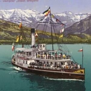"""Bodensee - Dampfer """"Stadt Bregenz"""" von Bader"""