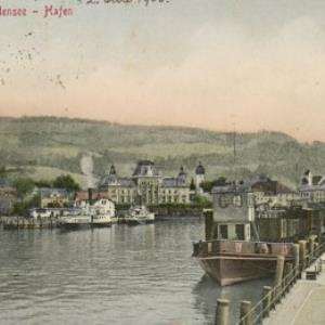Bregenz a. Bodensee - Hafen von Stengel u. Co.