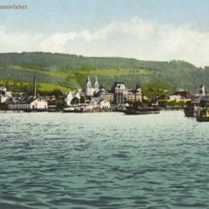 Bregenz - Hafeneinfahrt von Weberbeck