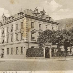 Restaurant u. Brauerei Weberbeck, Bregenz am Bodensee / Aufnahme von Franz Mörtl von Mörtl, Franz
