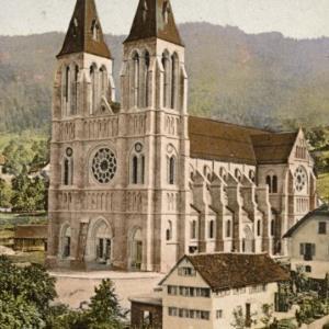 Bregenz - Die neue Herz-Jesu-Kirche von Photoglob