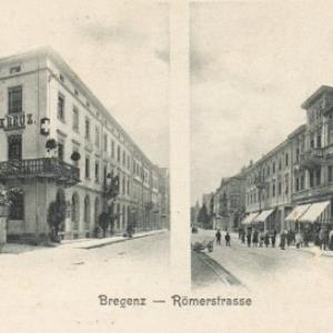 Bregenz - Römerstrasse von Wagner'sche Buchhandlung, Webering