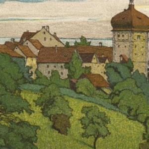 Bregenz Oberstadt / E. E. SCHLATTER von Schlatter, Ernst Emil