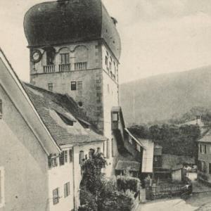 Bregenz am Bodensee (396 m) - Partie in Alt-Bregenz von Stengel u. Co.