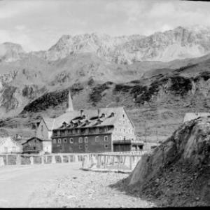 St.Christoph am Arlberg / Hospiz gegen Valluga von Risch-Lau