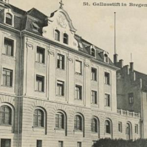 St. Gallusstift in Bregenz, Vorarlberg von [Verlag nicht ermittelt]