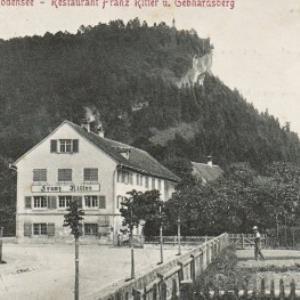 Bregenz a. Bodensee - Restaurant Franz Ritter u. Gebhardsberg von Stengel u. Co.