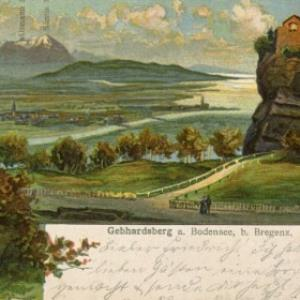 Gebhardsberg a. Bodensee, b. Bregenz von Kunstverlag, Luib