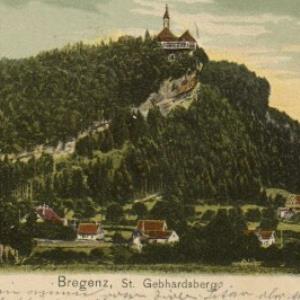 Bregenz, St. Gebhardsberg von Gebrüder Metz