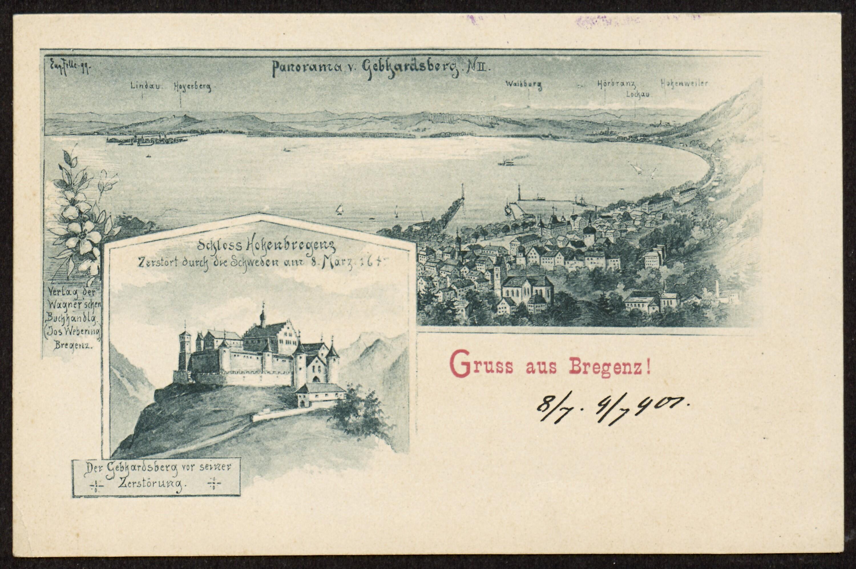 Gruss aus Bregenz / Eug. Felle 99 von Felle, Eugen