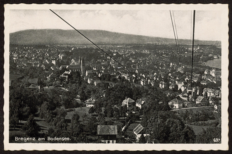Bregenz am Bodensee / Aufnahme von W. Miesler von Miesler, W.
