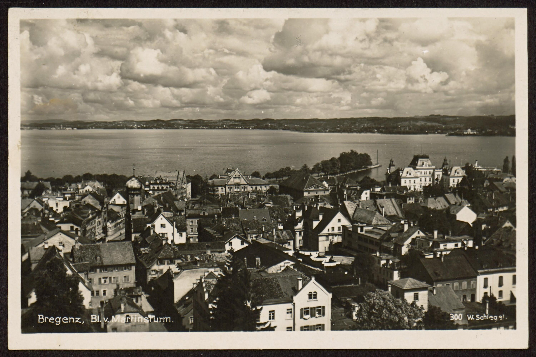 Bregenz, Bl. v. Martinsturm / W. Schlegel von Schlegel, Werner