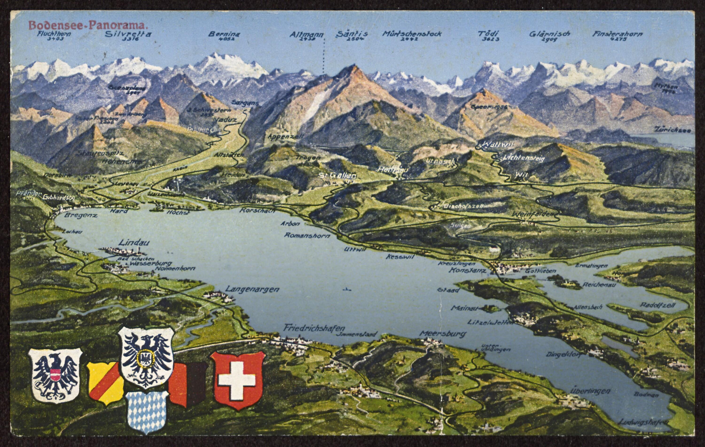 Bodensee-Panorama / Aufnahme von Risch-Lau von Risch-Lau, ...