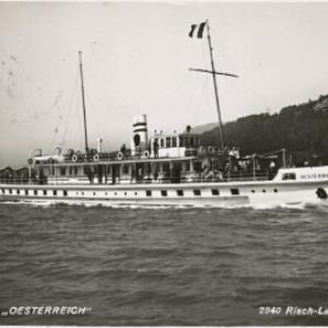 """Motorschiff """"Oesterreich"""" / Risch-Lau von Risch-Lau, ..."""