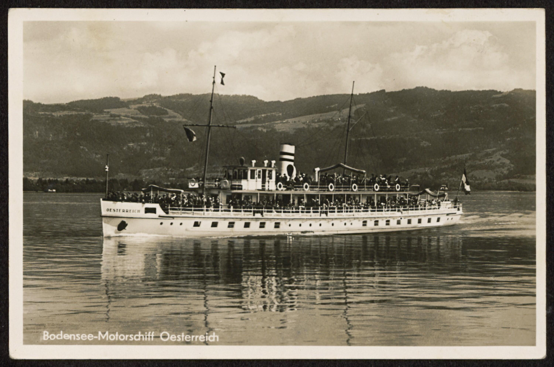 Bodensee-Motorschiff Oesterreich von Jörg