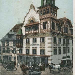 Marktplatz von Rusch, Friedrich
