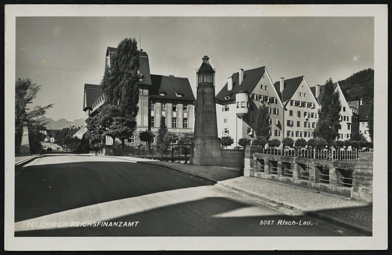Feldkirch Reichsfinanzamt / Risch-Lau von Risch-Lau, ...