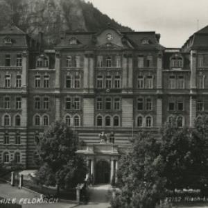 Reichsfinanzschule Feldkirch / Risch-Lau von Risch-Lau, ...
