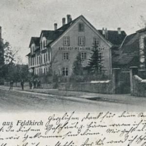 Gruss aus Feldkirch von Moosmann, Karl