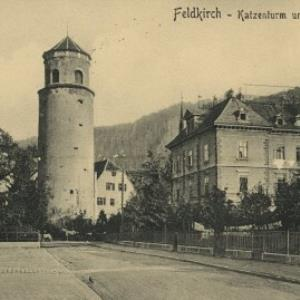Feldkirch - Katzenturm und Sinzhaus / Aufnahme von Alois Pinter von Pinter, Alois